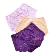 Plus Size Hot Underwear Women Panties Briefs For Female Hipster Underpants Sexy Lingerie Lace Cotton String Big Size Intimates