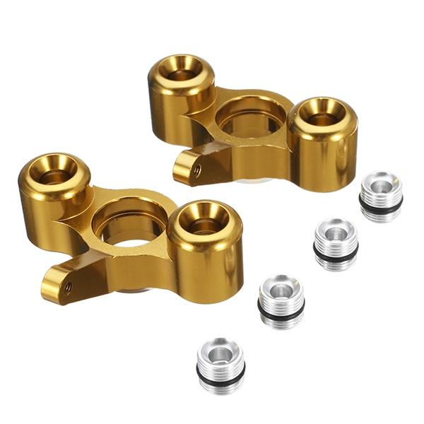 1/10 RC Car Upgrade Metal Accessoriess Steel Ring Knuckle for JLB Racing CHEETAH 2pcs EA1003