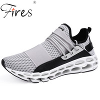 Fires Men Sport Shoes Rubber Soles Running Shoes Non slip Male Outdoor Walking Sneakers Big Size 39 45 Man's Zapatillas Hombre