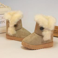 1943cfb1cb56 SKHEK обувь для девочек бутсы ботинки Зима Девушка Плюшевые ...