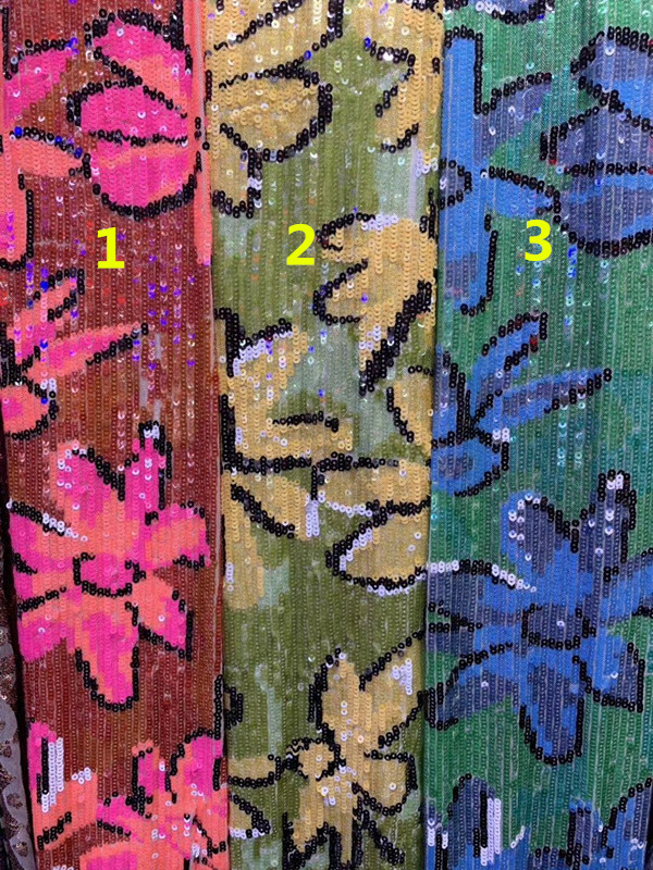 JIANXI.C 5608 brodé dentelle africaine tissu paillettes dentelle 5 yards dentelle française pour robe de soirée-in Dentelle from Maison & Animalerie    1