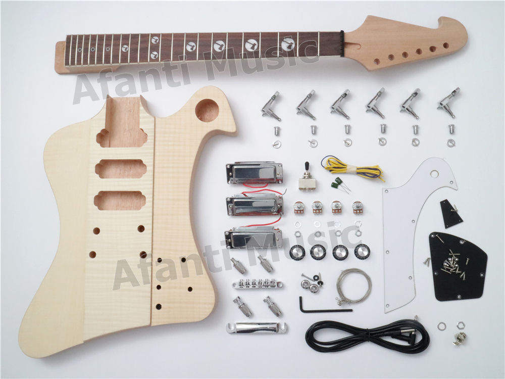 Nouveau Design! Firebird bricolage Kit guitare électrique d'afanti musique (PFB-001A)
