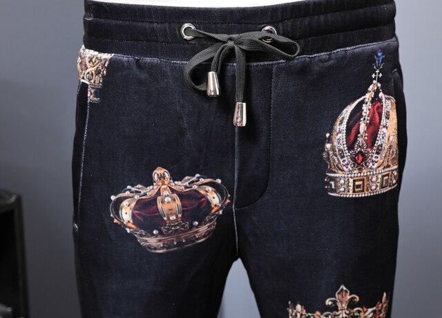 Elastic Waist Pants Trousers 1