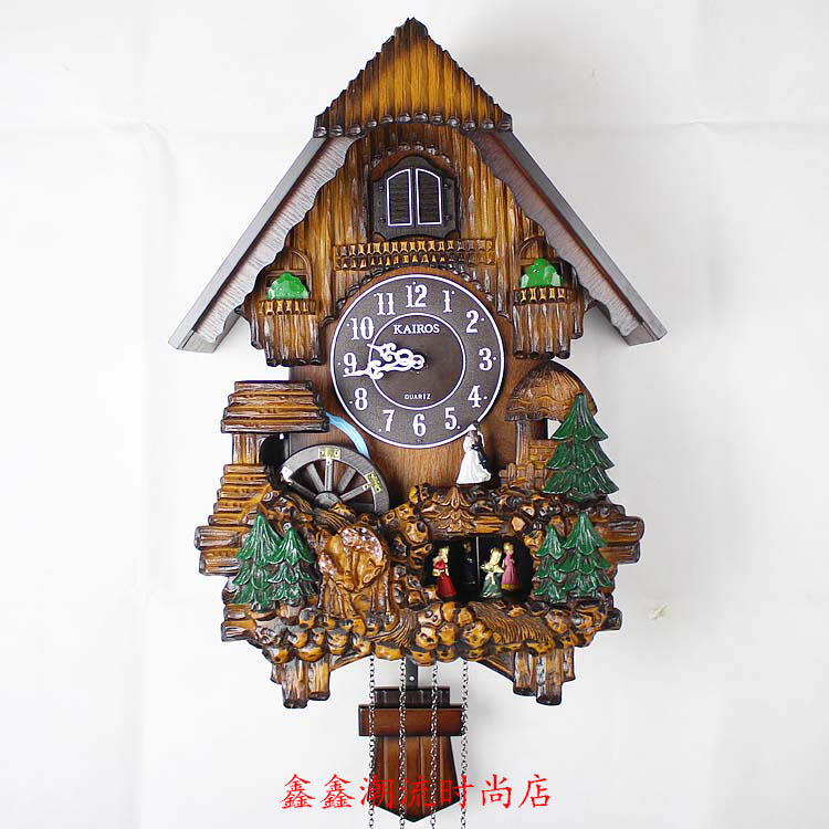 Buy The Bird Wall Clock European Rural