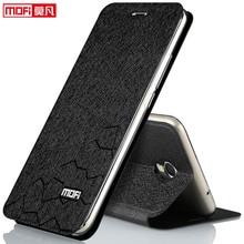 Meizu M3 e случае Meizu M3 e флип чехол Кожаный Mofi Meizu M3 e Note 5.5 дюймов принципиально Роскошные Coque металлической внутренней Мягкий силиконовый