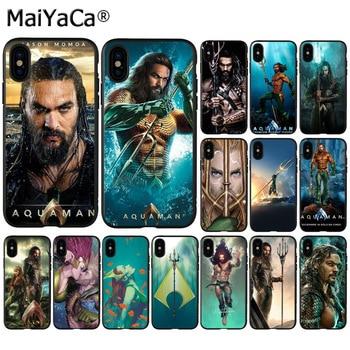 MaiYaCa Comics film Aquaman Coque Telefon Fall für Apple iphone 11 pro 8 7 66S Plus X XS MAX 5S SE XR Handys