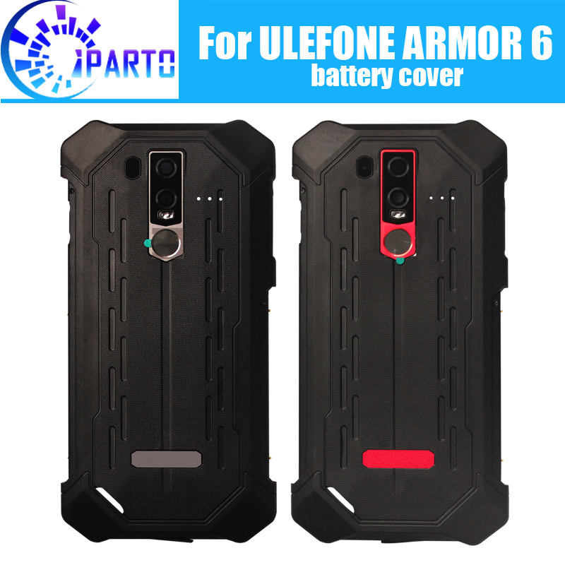 Ulefone ARMOR 6 Battery Cover Replacement 100% Original New Durable Back Case Mobile Phone Accessory for Ulefone ARMOR 6