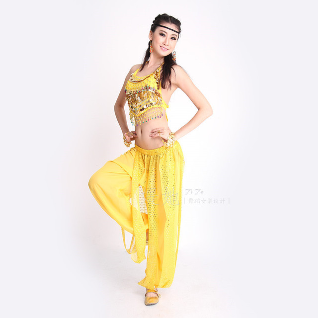 belly dance dress top bra trousers spring summer dress with pattern ...