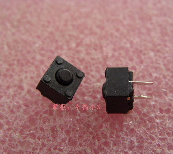 20pcs/lot Original HUANO Square 2 Feet Mouse Micro Switch 6 * 6 * 5.2mm Can Used For The Middle Button Of Deathadder 2013