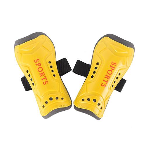 1 Pair 14*7*5cm Soccer Guards Sports Leg Protector Soccer Shin Guard Light Soft Football Shin Pads for Adult Teenage