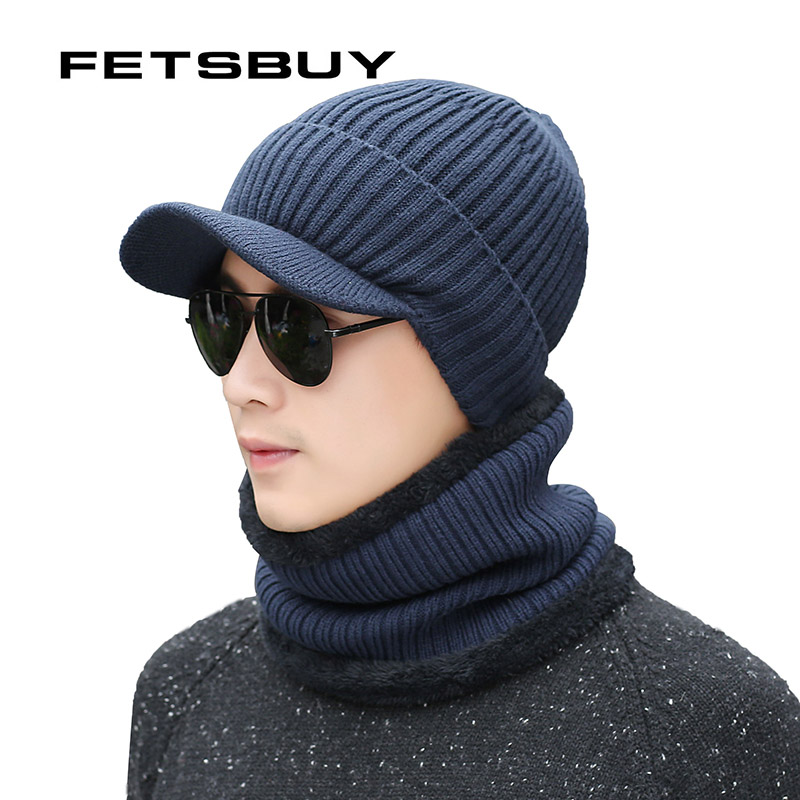 [FETSBUY] Winter Hat Skullies Beanies s