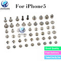 Best Quality 100% New Complete Full Screws Screw Set With Bottom Replacement For iPhone 5 Accessories Free Shipping