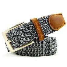 Unisex High Quality Pin Buckle Canvas Belt