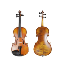 цена на Performance Handmade Violin Italian Technology Pattern 4/4 3/4 1/2 Adult Solid Wood Grading violin TL003-3 10 Years wood made