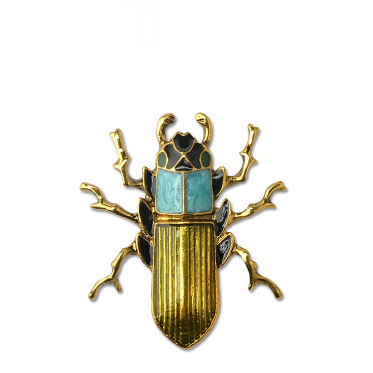 Fashion Personality Bug Brooch Insect Pin Clothes Accessories Gift for Women and Men YP3275