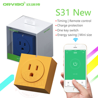 2018 New Orvibo S31 US Standard Home Automation Smart Power Socket Plug 4G/WiFi Remote Control Switch for Smartphones
