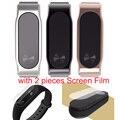 Xiaomi Mi Band 2 Metal Wrist Strap Milanese Belt For Miband 2 Smart Bracelet Wristband Silver Golden Black Color Presale