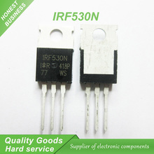 10PCS free shipping IRF530N IRF530 IRF530NPBF MOSFET MOSFT 100V 17A 90mOhm 24.7nC TO-220 new original(China (Mainland))