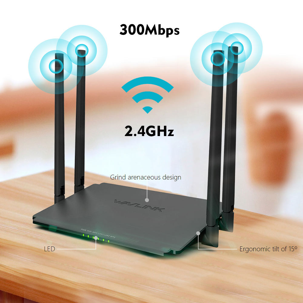 Wavlink 300Mbps WIFI Wireless Routers High Power Smart wifi repeater/router/AP Range Extender 5dBi Antennas Amplifiers&USB Port wireless router wifi repeater amplifier wi fi router ap 2 4ghz 300mbps wifi range english firmware 4 5dbi high gain antennas wps
