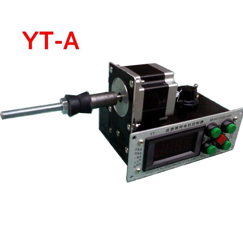 YT-A Précision De Commande Numérique Automatique Bas Variable Vitesse Bobinage Machine Enrouleur 2-Directions 1 pc