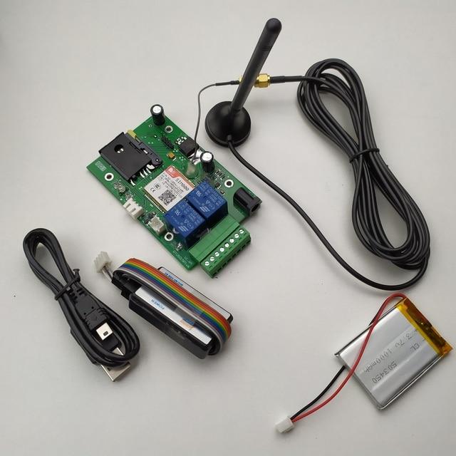 Huobei RTU5015 Plus GSM Cổng Dụng Cụ Mở Nắp Pin Sạc Dự Phòng mất điện báo động Tiếp Công Tắc Điều Khiển Từ Xa Điều Khiển Truy Cập ban ứng dụng