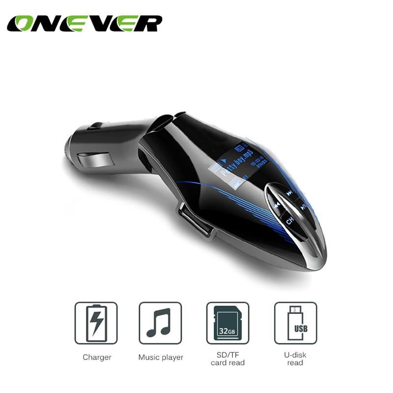 "1.2/"" LCD Car Kit FM Transmitter Mp3 Player USB//SD//MMC Aux Built-in Mic Modulator"