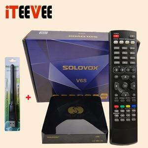 Image 3 - SOLOVOX S V6S استقبال الأقمار الصناعية المسرح المنزلي HD دعم M3U CCAM TV Xtream استقبال الأقمار الصناعية USB واي فاي الخيار من إسبانيا
