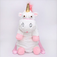 QIANQIANDORA Unicorn Backpack Mini Kids Plush Backpacks Kids Stuffed Plush Bag Backpack Kids Soft Toy