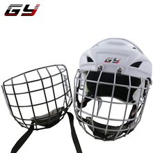 цена White Ice Hokey helmet with CE , Hockey Mask