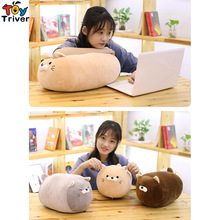 цена Plush Fat Cat Kitty Toy Soft Animal Cartoon Pillow Cushion Cute Stuffed Doll Baby Kids Birthyday Christmas Gift Triver Drop Ship онлайн в 2017 году