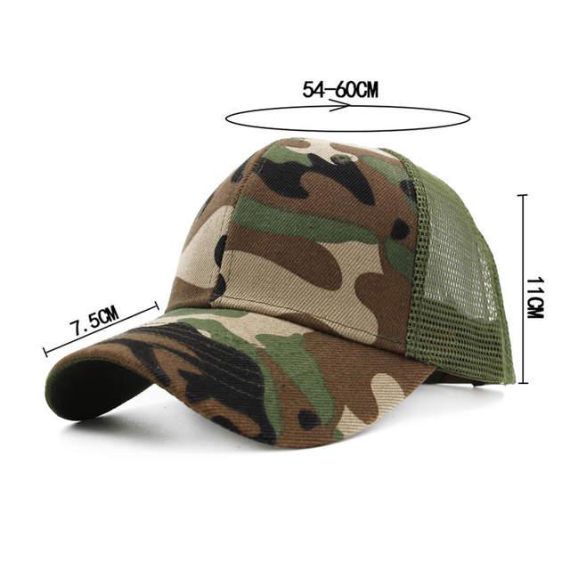 4711c043 New Camo Mesh Baseball Cap Men Women Snapback Cap Hip Hop Dad Hats Summer  Bone Hat Men Outdoor Relaxation Sports Curve Visor Cap
