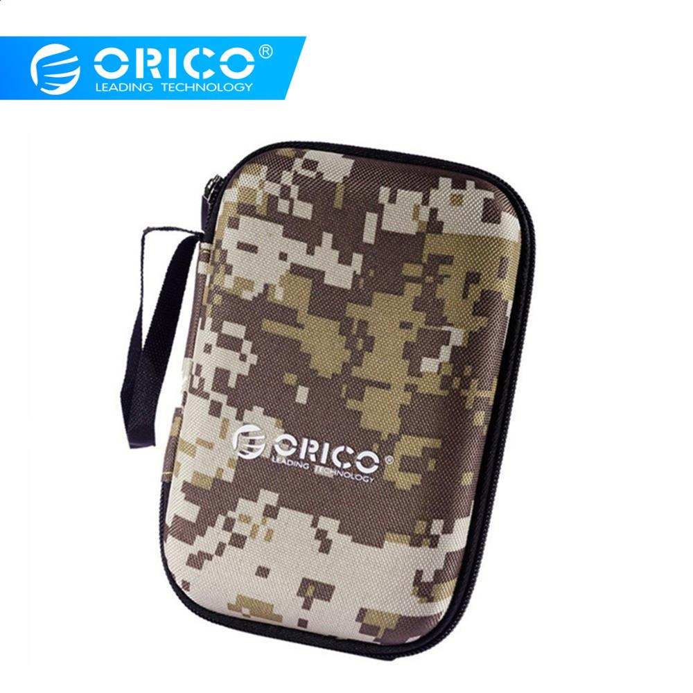 ORICO 2.5 Inch Protect Bag For Power Bank Hard Disk Drive 3C Accessories Portable Protector Enclosure Case Bag With Army Colors