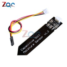 Capacitive Soil Moisture Sensor Not Easy to Corrode Wide Voltage Wire 3