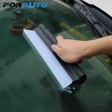 FORAUTO Mirror Window Wiper Scraper Rubber Car Washer Windshield Wash Tools Glass Window Cleaning Brush Auto Wiper Cleaner Blade