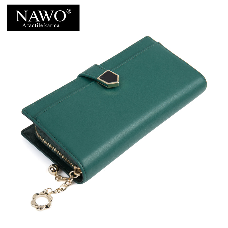 NAWO Split Leather Women Wallets High Quality Hasp Female Money Bag Brand Women Purse Coin Pocket Card Holder Long Purse Clutch 2017 new long wallets small money bag women credit card holder fashion hasp solid female brand leather purse coin pocket ladies
