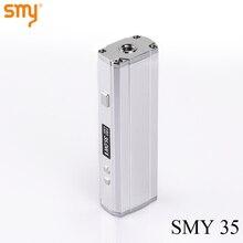 บุหรี่อิเล็กทรอนิกส์VapeสมัยSMY 35สมัยกล่อง35วัตต์Eบุหรี่มอระกู่อิเล็กทรอนิกส์18650แบตเตอรี่สมัยสำหรับ510เครื่องฉีดน้ำด้ายX9071
