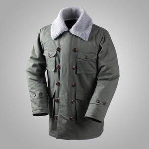 Image 1 - Deutsch Connie Großen Military Jacke M1909 Kampf Mantel Winter männer Armee Outwear