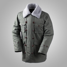 German Connie Major Military Jacket M1909 Combat Coat Winter Mens Army Outwear