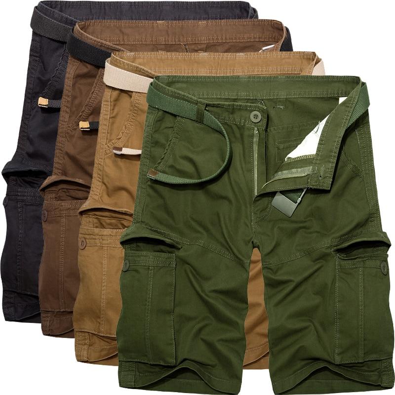 2018 new arrivals fashion men cargo shorts straight loose fashion cotton mans short trousers bottoms plus size 29-40 AYG227