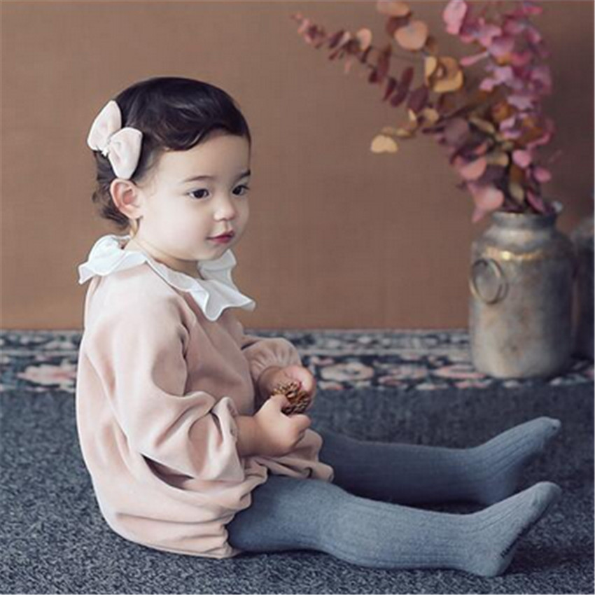 Newborn Toddler Baby Girl Long Sleeve Romper for Spring, Autumn and Winter Baby Girls Headband Fashion clothes Rompers 2018