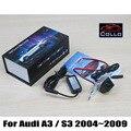 Especial Para Audi A3/S3 2004 ~ 2009/Laser de Carro Nevoeiro Lamp/12 V Estilo Do Carro Anti-Colisão Segurança de Condução do Sinal de Aviso Da Lâmpada