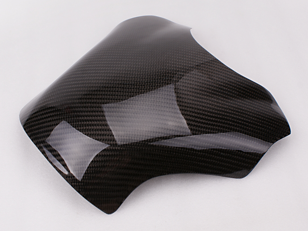 Freeshipping Carbon Fiber Fuel Gas Tank Protector Pad Shield For YAMAHA YZF-R1 2009-2013 carbon fiber fuel gas tank cover protector for yamaha yzf r1 2004 2005 2006