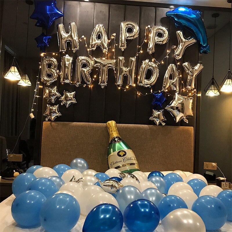 поздравления мужу с 44 летием из шариков оформление поделитесь своей