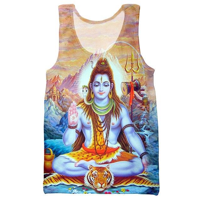 New arrive popular return to the anci Shiva 3D print men women fashion cool t shirt/hoodies/sweatshirts/vest/ tops dropshipping