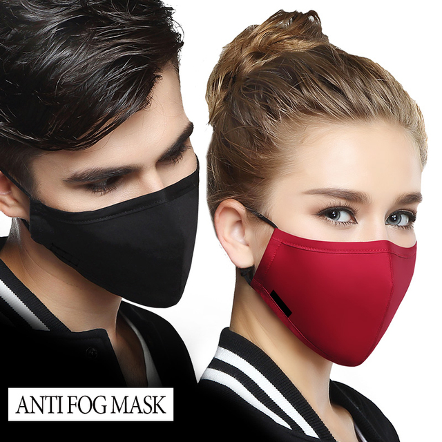 Reusable Pure Cotton Anti Dust Mouth Mask Men And Women Windproof Mouth-muffle bacteria proof Flu Adjustable Washable Face Mask