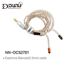 DUNU NN-OCS2701 Authentic 2.5mm Earphone Blanced Cable for DN-2002 DK-3001 1.2M