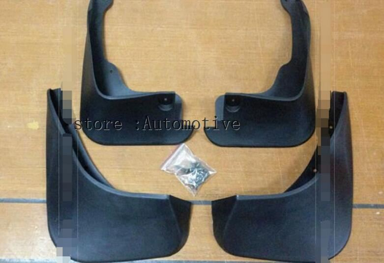 Accessories 4PCS/SET FIT FOR 2006~2011 for TOYOTA YARIS RS TS HATCH MUD FLAPS SPLASH GUARDS 2007 2008 2009