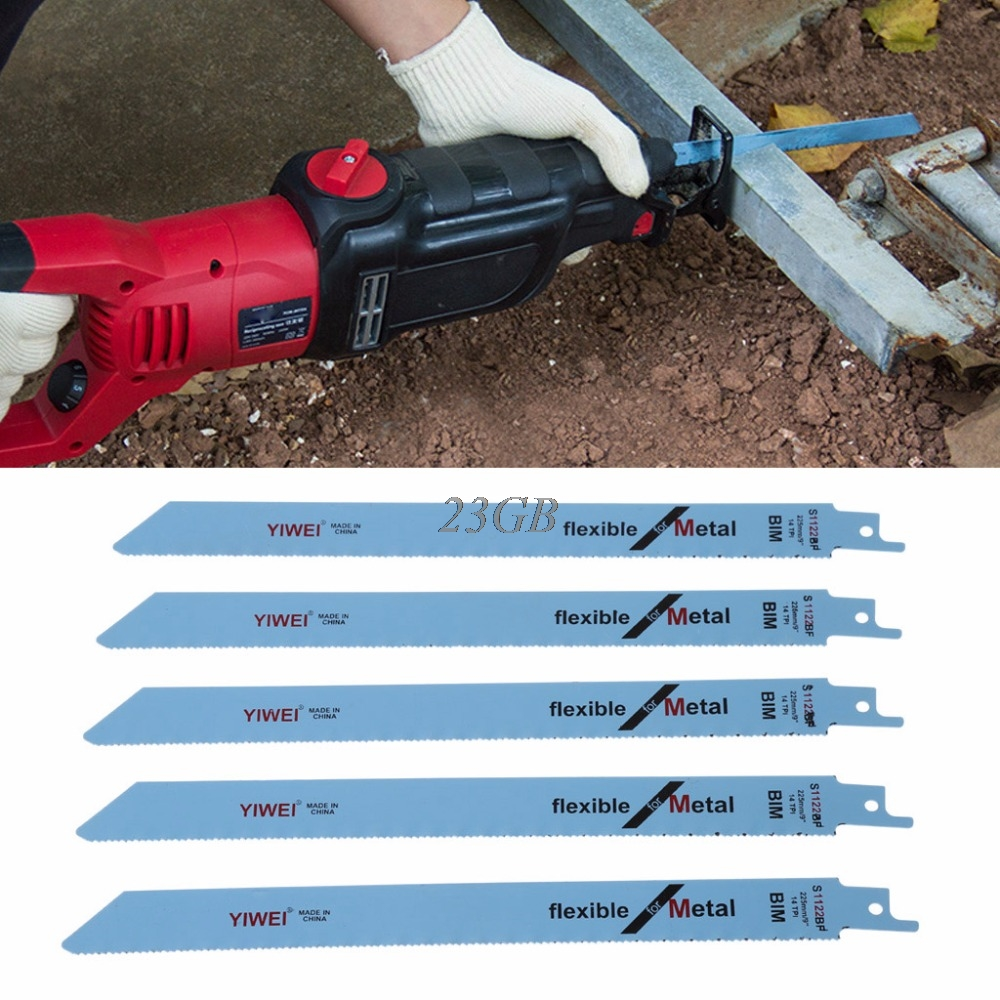 S1122BF Reciprocating Sabre Saw Blades 227mm 9