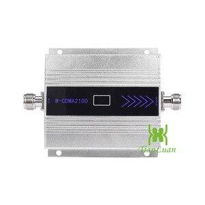 Image 2 - TianLuan Mini W CDMA 2100 mhz Signal Booster 3g Repetidor Do Sinal Do Telefone Móvel com Painel de Antena/Antena Yagi/ 5 15 m m Cabo