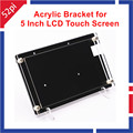 Raspberry Pi 3 Acrylic Bracket for 5 Inch 800*480 HDMI Touch Screen LCD Display